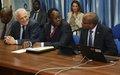 Lancement à Goma, RDC, du processus de rapatriement des combattants désarmés étrangers
