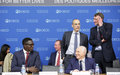 Special Envoy Said Djinnit attends OECD 12th forum, briefs OIF Secretary-General on the political situation in the Great Lakes region