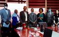 Mission conjointe du Bureau de l'ONU pour les Grands Lacs et de la CIRGL au Soudan pour jeter les bases d'un atelier sur l'exploitation des ressources naturelles